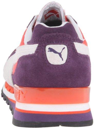 Puma Dames Tx-3 Nylon Veterschoen Met Contrasterende Sneaker Blackberry