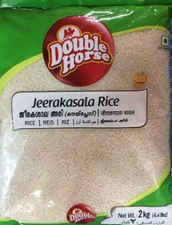 Double Horse Jeerakasala Rice - 2 Kgs
