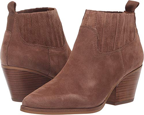 - Franco Sarto Women's Lasso Toffee Lux Brushed Suede 7.5 M US M