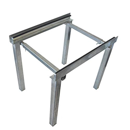 Jeacent Air Handler Stand Heat Pump Base, Gound Stand for Central Air Conditioner Heavy Duty