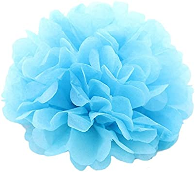 Pack of 12, Navy Ipalmay DIY Tissue Pom Pom Flower Ball Wedding Party Decoration