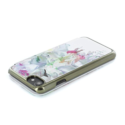 Ted Baker SS16Floral Folio Étui avec miroir pour iPhone 7–eleeta