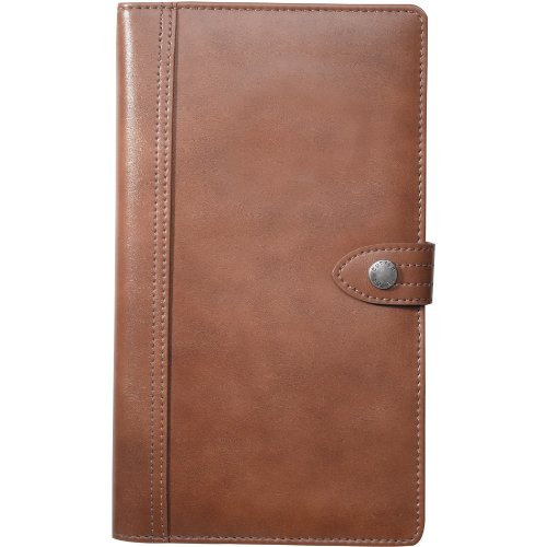 Cutter & Buck Legacy Travel Leather Wallet - Brown ()
