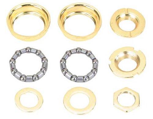 Lowrider Bottom Bracket Set 1/Piece Crank 5/16x9 24t Gold ()