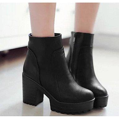 Confort Noir Chaussures Gris 5 Décontracté Talons à GLL Jaune Polyuréthane yellow amp;xuezi Femme Printemps Automne à cm 7 wvqA4XBE