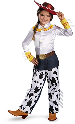 Disguise Disney Pixar Toy Story and Beyond Jessie Prestige Girls Costume, (Jessie Costume Girl)
