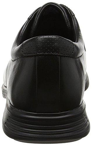 Dressports Rockport Black Nero 2 Basse Stringate Apron Lea Scarpe Toe Lite Uomo qdgdHxwF