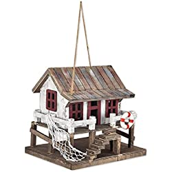 Sunset Vista Designs BPS-23 Decorative and Functional Outdoor Birdhouse, Shoreline