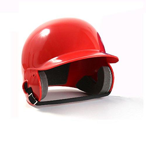 Newness World安全ヘルメット野球ヘルメットハードCombatヘルメット野球機器保護衝撃抵抗ソフトボールヘルメット(レッド) B07FXLNG35