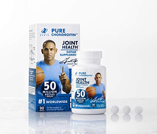 Zeria Pure Chondroitin Tablets 90 Count (30 Day Supply), Pharmaceutical Grade & NSF Certified for Joint Health Supplement with Chondroitin ()