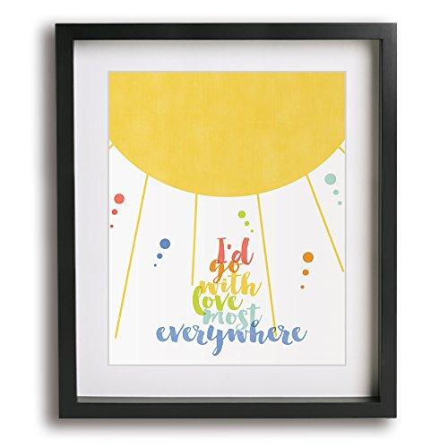 (That's How Strong My Love Is | Otis Redding inspired song lyric art print)