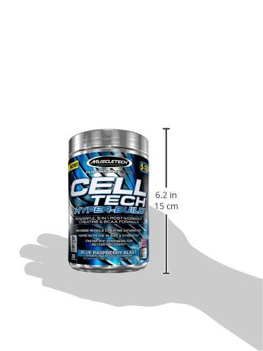 MuscleTech Cell Tech Hyper Build 30 Serving Post Workout Supplement