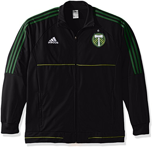 MLS Portland Timbers Men's Anthem Jacket, Medium, Black