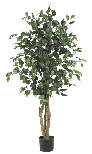 nearly-natural-5299-ficus-silk-tree-4-feet-green