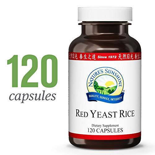 Nature's Sunshine Red Yeast Rice, 120 caps, Kosher