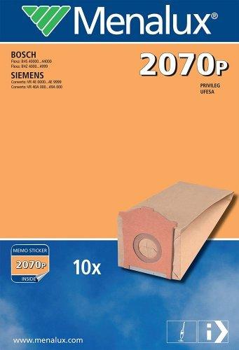 2 Paquetes Bolsas para aspiradora Bosch Flexa 2070p: Amazon ...