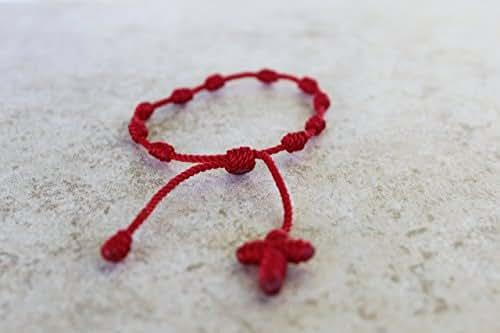 .com: Decenario bracelet,red bracelet , pulsera decenario , pulsera