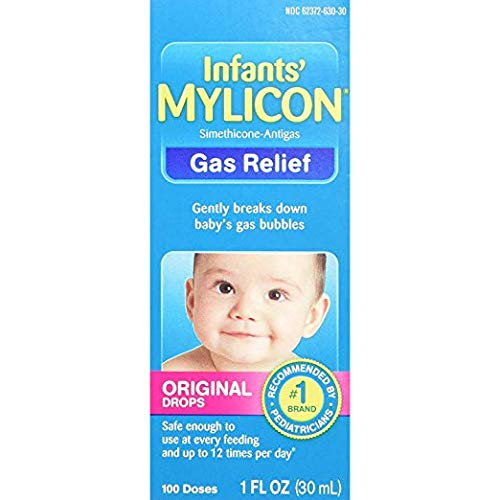Mylicon Infants' Gas Relief Original Drops - 1 oz, Pack of 6 by Mylicon