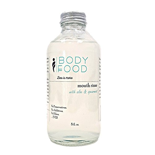 Body Food Aloe Vera Mouth Rinse, 8 oz.