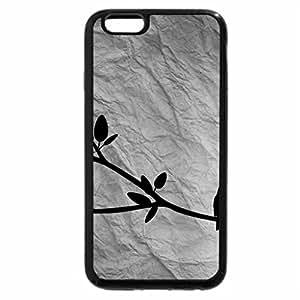 iPhone 6S Plus Case, iPhone 6 Plus Case (Black & White) - Birds on a branch