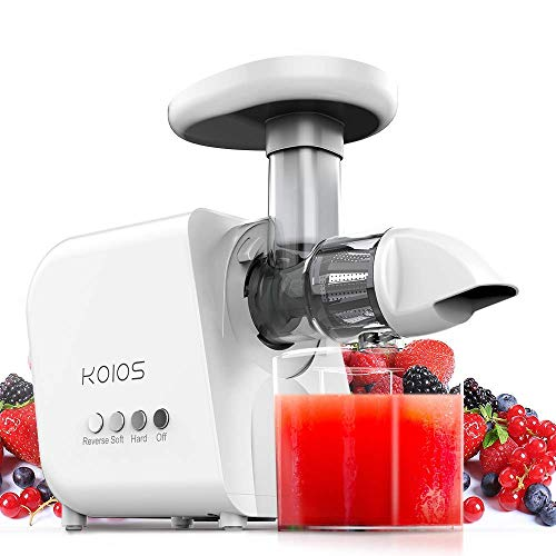KOIOS Juicer, High Juice Yield and GERMANY EMGEL Motor with 2-Year Extended Warranty (Best Rated Juicers 2019)