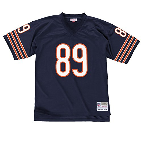 Free Mike Ditka Chicago Bears Dark Navy Throwback Jersey