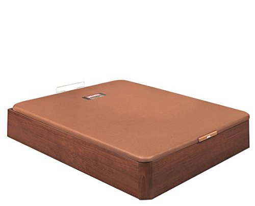 Pikolin CANAPÉ ABATIBLE NATURBOX Madera 3D (150x190, Cerezo): Amazon.es: Hogar