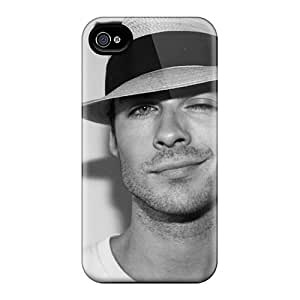 Hard Protect Phone Cases For Iphone 6plus (JZF20348ESAB) Support Personal Customs Beautiful Ian Somerhalder Pictures