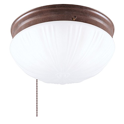 (Westinghouse Lighting 67202 2-Light Sienna Ceiling Fixture - 2 Pack)