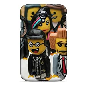 Scratch Protection Hard Phone Cover For Samsung Galaxy S4 With Custom Lifelike The Lego Movie Pictures MansourMurray