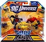 DC Universe Action League FLASHPOINT Mini Figure 2Pack Wonder Woman Aquaman