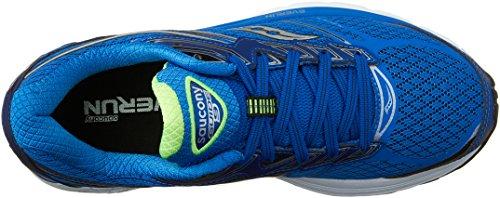 Saucony Guide 9, Scarpe Running Uomo Blu (Blue/Slime/Black)