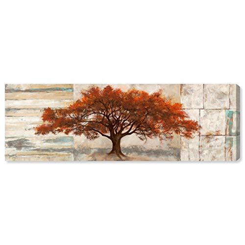 - The Oliver Gal Artist Co. Botanical Wall Art Canvas Prints 'SAI - Amber Leaves' Home Décor, 60