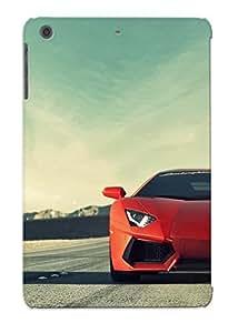 Christmas Day's Gift- New Arrival Cover Case With Nice Design For Ipad Mini/mini 2- Cars Lamborghini Roads Vehicles Lamborghini Aventador Lp7004