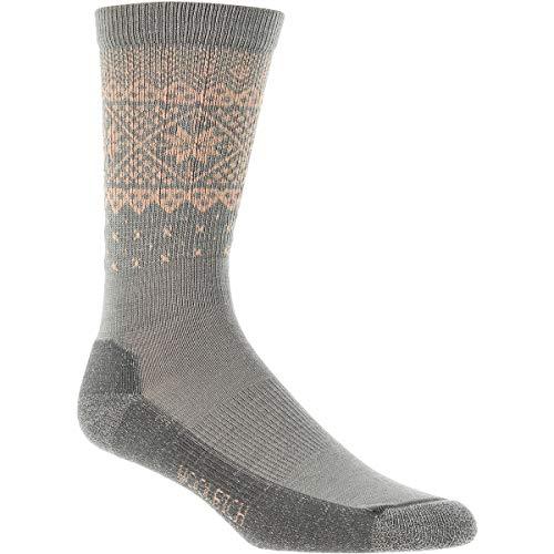 Woolrich Snowflake Border Crew Sock, Sprig, Medium
