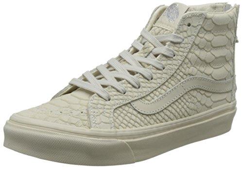 VANS - Sneaker SK8-HI SLIM ZIP DX - mono python angora Beige