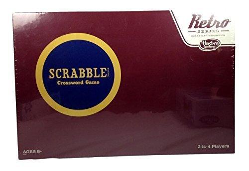 Scrabble Retro Series Exclusive (Scrabble For Adults)