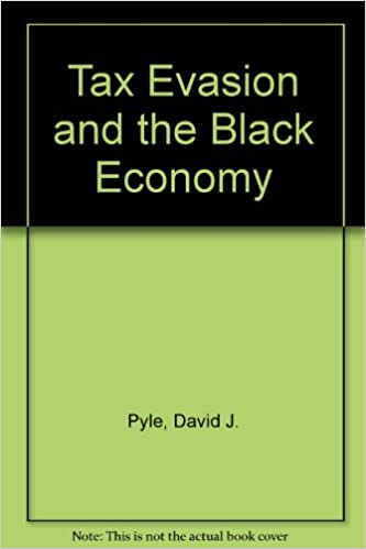 Tax Evasion and the Black Economy