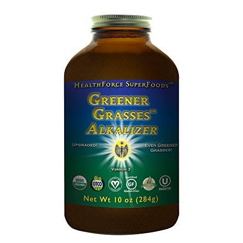 HealthForce SuperFoods Greener Grasses Alkalizer 10 Ounces Powder