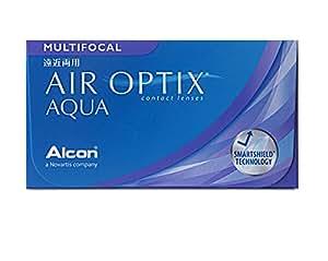 AIR OPTIX Lentes de contacto multifocales mensuales, R 8.6, D 14.2, -5.5 dioptría, adición baja - 3 lentillas