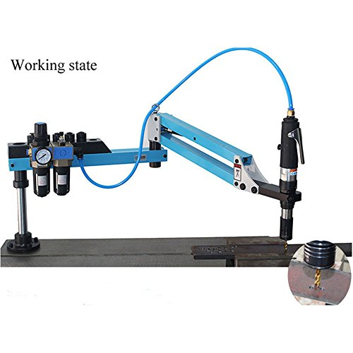M3-M16 Vertical Type Pneumatic Air Tapping Machine Drilling Machine Pneumatic Tapping Machine Tapper Working radius:1500mm by CGOLDENWALL (Image #3)