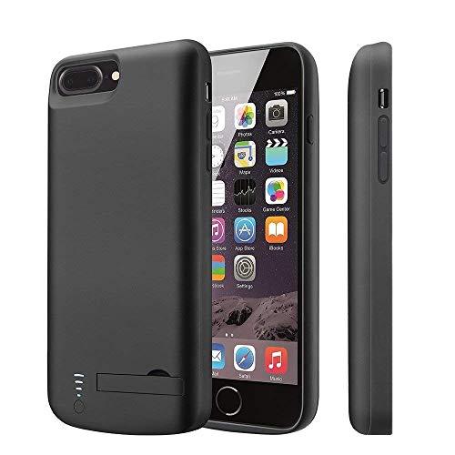 Funda para iPhone 8 Plus/7 Plus/6(S) Plus de batería V-EWIGE 8000 mAh 5,5 pulgadas Cargador Portátil Recargable Extended...