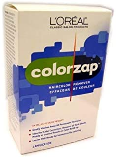 Amazon myhd my haidresser salon professional do it yourself loreal colorzap haircolor remover removes all unwanted permanent color solutioingenieria Choice Image