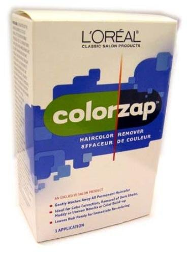 LOreal ColorZap Haircolor Unwanted Permanent