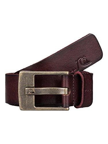 Quiksilver Embossed Belt (Quiksilver Men's Section Belt, Chocolate,)
