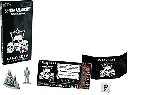 Battlefront Miniature Sons of Anarchy Calaveras Club Expansion Board Game (Sons Of Anarchy Figurines)