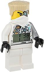 LEGO Kids' 9009785 Ninjago Zane Figurine Alarm Clock