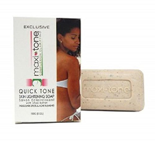 Clear Essence Maxi-Tone Quick Tone Skin Lightening Soap with Shea Butter (Essence Lightening)