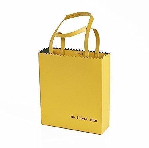 Regenesi Fruit Bag Shopping Femme Jaune
