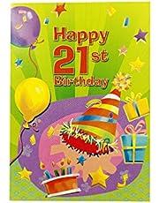 The Paper Stone Designer Greetings Birthday Card Age 21 Happy 21St Birthday